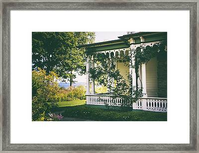 Victorian By The Sea Framed Print by Jessica Jenney