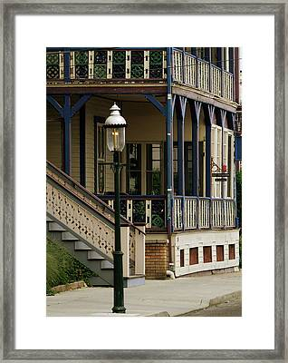Victorian Cape May Framed Print