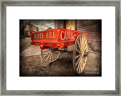 Victorian Cart Framed Print by Adrian Evans