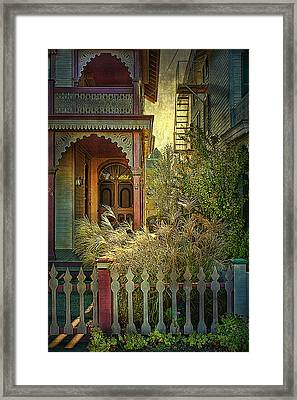 Framed Print featuring the photograph Victorian Charm by John Rivera