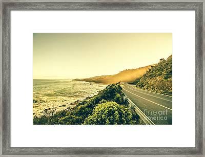 Victorian Coastline Framed Print by Jorgo Photography - Wall Art Gallery
