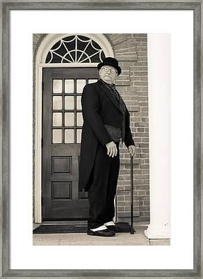Victorian Dandy Framed Print