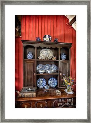 Victorian Dresser  Framed Print