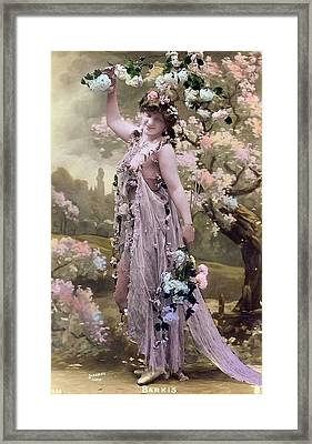 Victorian Erotic Postcard 2 Framed Print