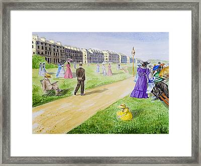 Victorian Filey Framed Print by Svetlana Sewell