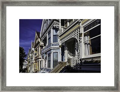 Victorian Homes Detail Framed Print