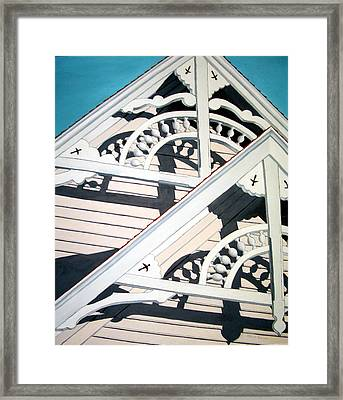 Victorian House Framed Print by Dillard Adams