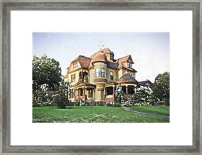 Victorian House Framed Print by Ericamaxine Price