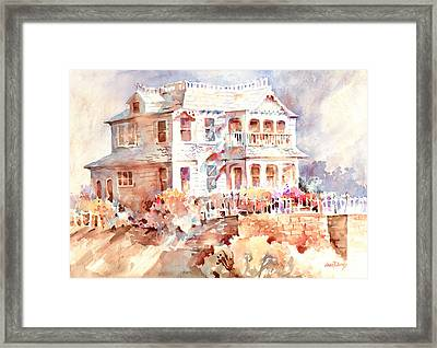 Victorian House Framed Print by Joan  Jones