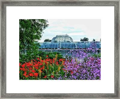 Victorian Kew Gardens Today  Framed Print