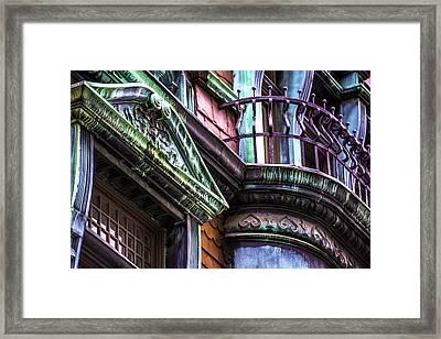 Victorian On Rush V2 Framed Print by Raymond Kunst