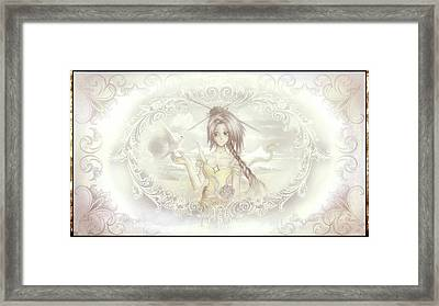 Framed Print featuring the mixed media Victorian Princess Altiana by Shawn Dall