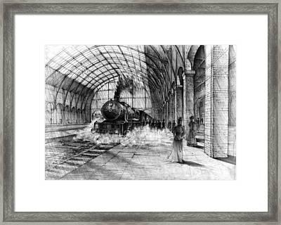 Victorian Railway Framed Print