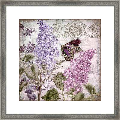 Victorian Romance II Framed Print by Mindy Sommers