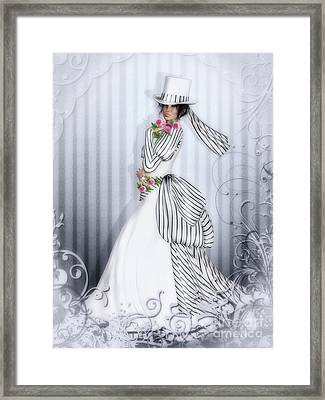 Victorian Rose Framed Print by Shanina Conway