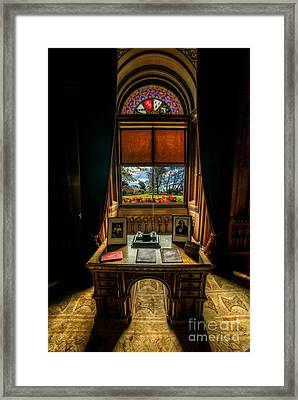 Victorian Spring View Framed Print by Adrian Evans