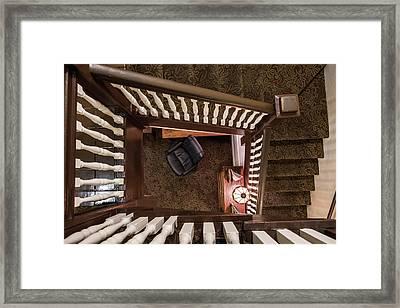 Victorian Stairway Framed Print