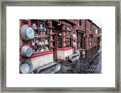 Victorian Stores Framed Print by Adrian Evans