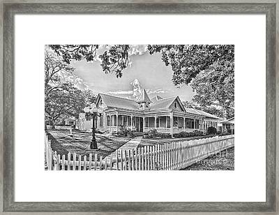 Victorian Sunday House Framed Print