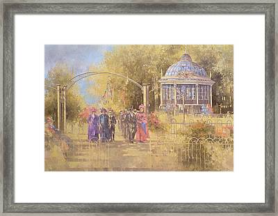 Victorian Sunday Framed Print by Peter Miller