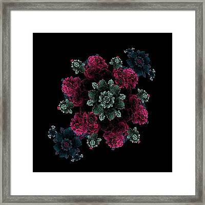 Victoria's Corsage Framed Print