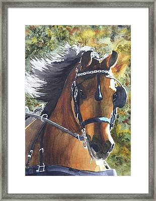 Victorious Framed Print