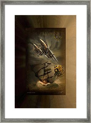 Victory Cats Framed Print by Peter Van Stigt