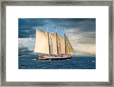 Victory Chimes Framed Print