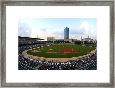 Victory Field Framed Print by Rob Banayote