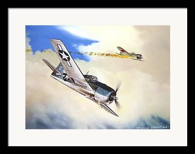 Military Aviation Framed Prints