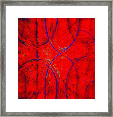 Victory From Blues Framed Print by Fania Simon