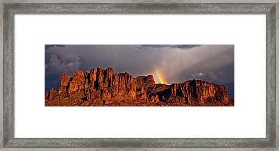 Framed Print featuring the photograph Victory In The Storm by Rick Furmanek