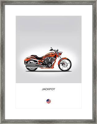 Victory Jackpot Framed Print by Mark Rogan
