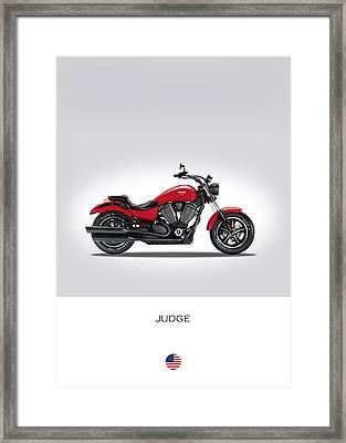 Victory Judge Framed Print