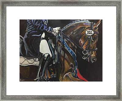 Victory Ride Framed Print