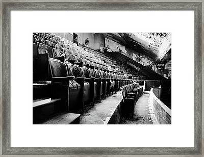 Victory Theatre, 1920-1979 Framed Print by JMerrickMedia