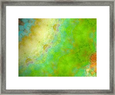 Vida Verde Framed Print by Glorielis Martins