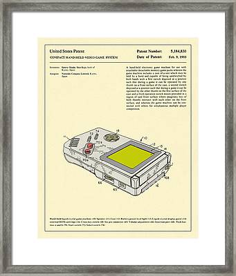 Video Game System 1993 Framed Print