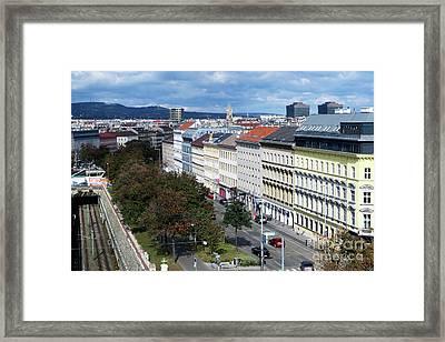 Vienna Beltway Framed Print
