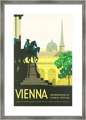 Vienna Framed Print by Georgia Fowler