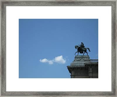 Vienna Sky Framed Print