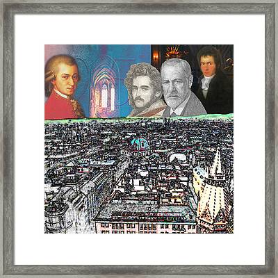 Viennese Visitants Framed Print by John Scariano