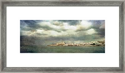 Vieste  - Gargano Framed Print