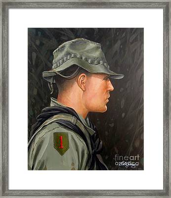 Vietnam Portraits No.12 Framed Print