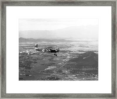 Vietnam Psych Warfare Framed Print