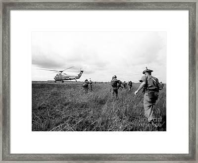 Vietnam War Framed Print