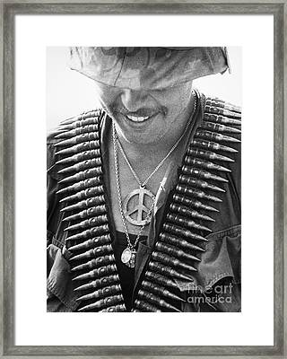 Vietnam War: Soldier, 1970 Framed Print by Granger