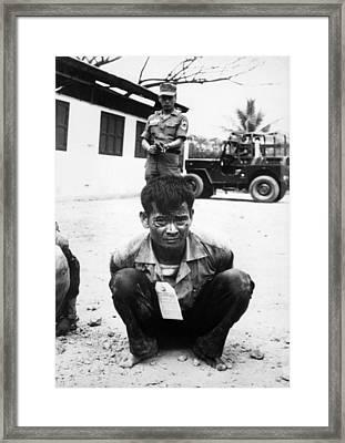 Vietnam War, Viet Cong, Heavily Framed Print