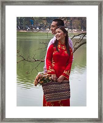 Vietnam Wedding Framed Print