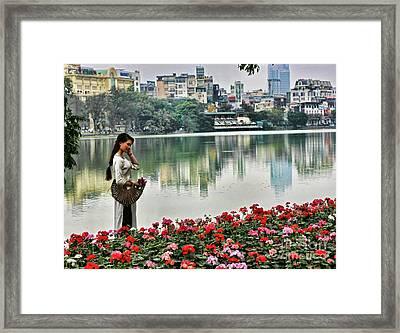 Vietnamese Beauty I  Framed Print